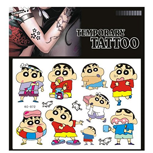SYZ Beauty Waterproof Temporary Tattoos Lovely Crayon Shin-chan Tattoos