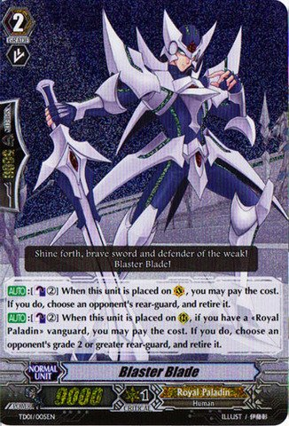 Cardfight!! Vanguard TCG - Blaster Blade (TD01/005EN) - Trial Deck 1: Blaster Blade (Cardfight Vanguard Blaster Blade compare prices)