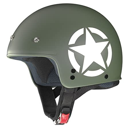 Grex Casque Casque Moto Jet G2.1 Army M/Military XL