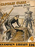 img - for Captain Cleek Salvage Boss book / textbook / text book