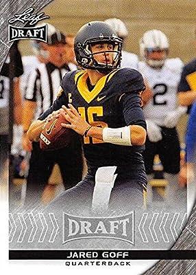 Jared Goff Football Card (California, Los Angeles Rams) 2016 Leaf Draft #36 Rookie