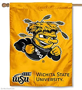 Amazon.com : Wichita State University Shockers House Flag ...