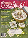 img - for Crazy for Cross Stitch! (January 2003, Volume 14, No. 1, Issue No. 74) book / textbook / text book