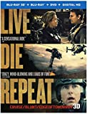 Live Die Repeat: Edge of Tomorrow (Blu-ray 3D + Blu-ray + DVD +UltraViolet Combo Pack)