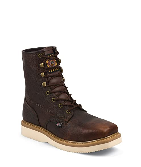 Mens Black Justin Work Boots Justin Work Boots Mens Premium