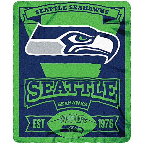 NFL-Officially-Licensed-Marquee-Fleece-Throw-Blanket-Seattle-Seahawks