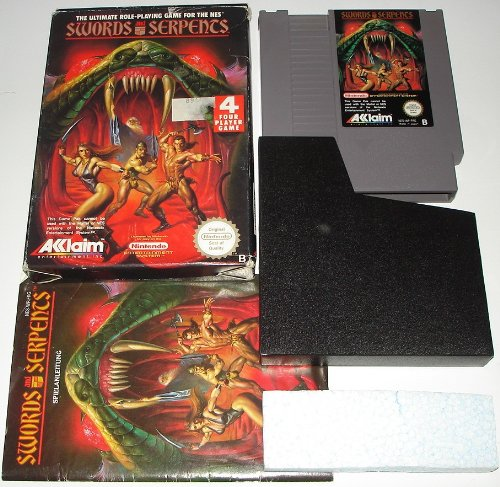 Swords & Serpents - Nintendo Nes front-261769