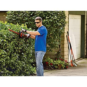 BLACK+DECKER LHT321FF 20V MAX Lithium POWERCOMMAND Powercut Hedge Trimmer, 22