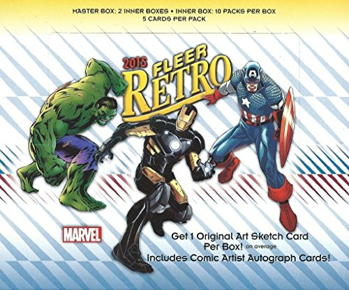 2015 Upper Deck Fleer Marvel Retro Trading Card Hobby Box (2015 Marvel Cards compare prices)