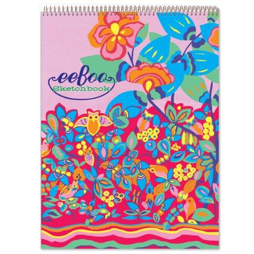 eeBoo Owl Fluorescent Sketchbook - 1