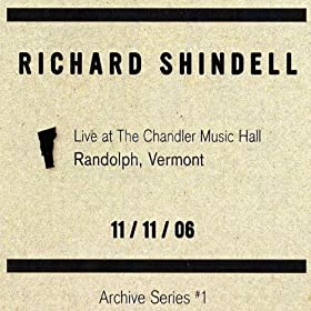 Live at the Chandler Music Hall Randoph Vermont 11/11/06