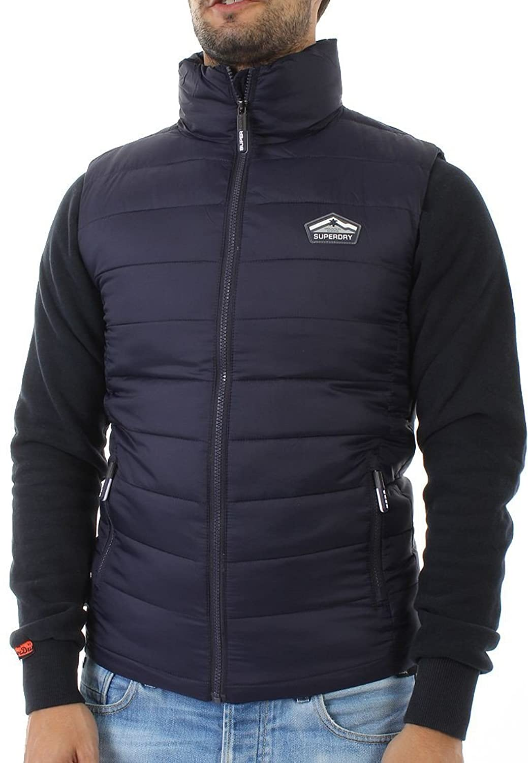 Superdry Weste Men FUJI GILET Ink