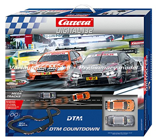 Carrera 30181 DTM Countdown 1:32 Scale Digital Slot Car Set