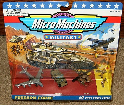 Micro Machines First Strike Force #2 Military Collection