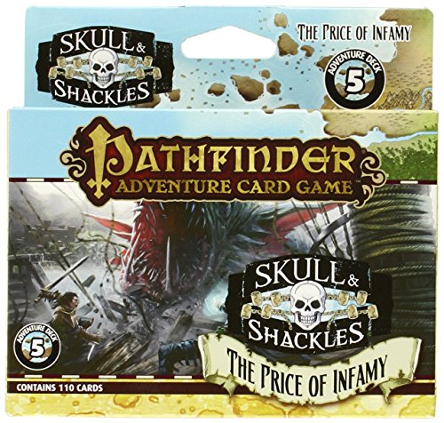 Skull & Shackles Adventure Deck 5: The Price of Infamy (Pathfinder Adventure Card Game)
