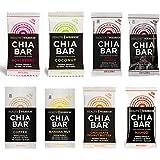 Health Warrior Chia Bars 8 Flavor Variety Pack (16 Bars)