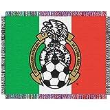 """Team Mexico Soccer Triple Woven Jacquard Throw (019 Focus) (48x60"""")"""""""