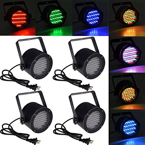 4Pcs 86 Rgb Led Stage Light Par Dmx-512 Lighting Laser Projector Party Club Dj front-527686