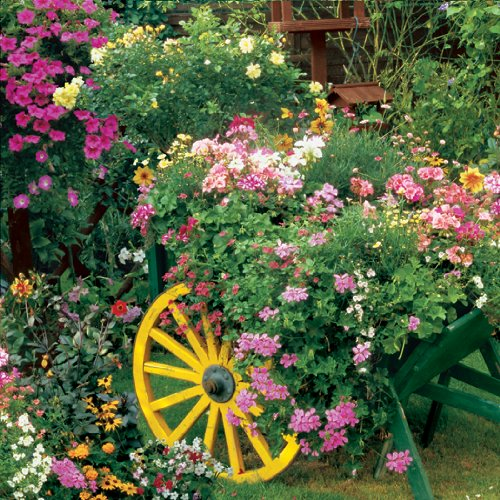 """Springbok """"Blooming Cart"""" 500 Piece Jigsaw Puzzle"""
