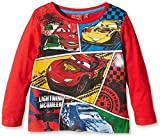 DISNEY  HO1564 - Camiseta manga larga infantil, color rojo , 8 años