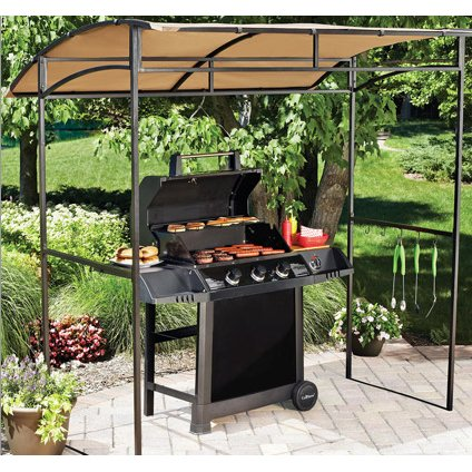 Replacement Canopy For Walmart'S Curved Grill Shelter