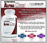 Active Men's Alpha-Multi - High Performance Multivitamin Providing Complete Nutrition for Active Men, Male Health, - 60 tablets per bottle (1 Bottle)