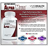 Active Men's Alpha-Multi - High Performance Multivitamin for Male Health, Complete Nutrition for Active Men - 60 Tablets ~ Active Men's Alpha-Multi