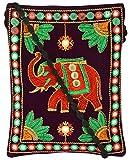 Khatri Handicrafts Women's Sling Bag (Multi-Coloured)