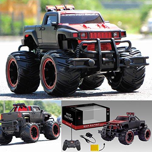 RC-Ferngesteuertes-Auto-Pick-Up-Monster-Truck-Monstertruck-inkl-Akku-Ladegert-und-Funkfernsteuerung