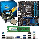 INTEL Core i7 3770K 3.5Ghz, ASUS P8H61-MX USB3 & 4GB 1600Mhz DDR3 RAM Bundle
