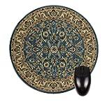 Blue Oriental/Persain Rug-Mat-Round M...