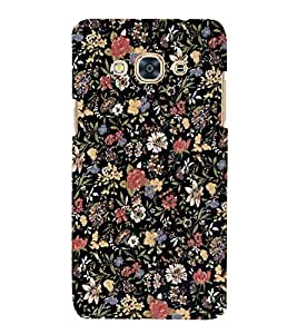 Flowers Artist Wall 3D Hard Polycarbonate Designer Back Case Cover for Samsung Galaxy J3 Pro