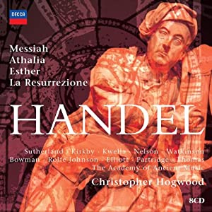 Hogwood Conducts Handel Orator