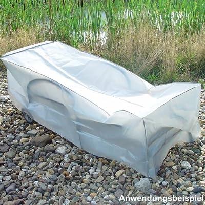 Greenmotion Schutzhülle Rollliege 55x73x193 grau Gartenliege Abdeckhaube Plane von TESTRUT - Gartenmöbel von Du und Dein Garten
