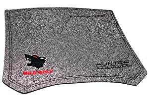 Gaming Mousepad Wild Wolf Hunter Precision Gaming Surface Pad f?r Gamer aus Stoff Top!