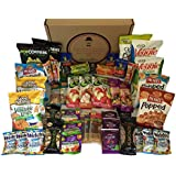 Healthy Snacks Care Package by The Good Grocer (46 Count)