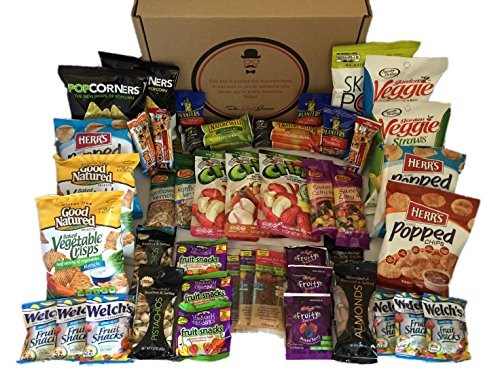 Healthy Snacks Care Package By The Good Grocer 46 Count