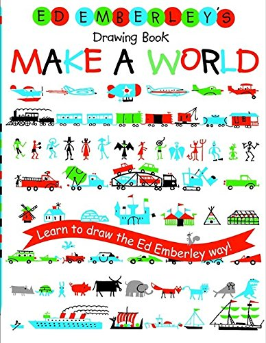 Ed Emberley's Drawing Book: Make a World (Kid Drawing Book compare prices)