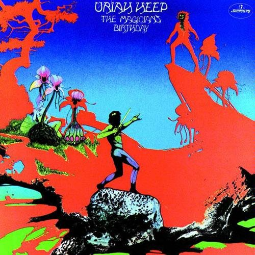URIAH HEEP - The Magician's Birthday (Original recording) - LP