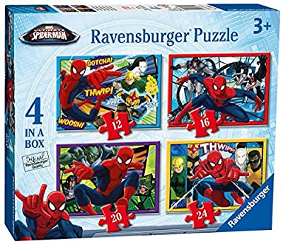 Ravensburger Ultimate Spider-Man Four in a Box