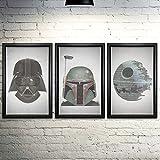Star Wars Word Art Print Three Set - 11x17