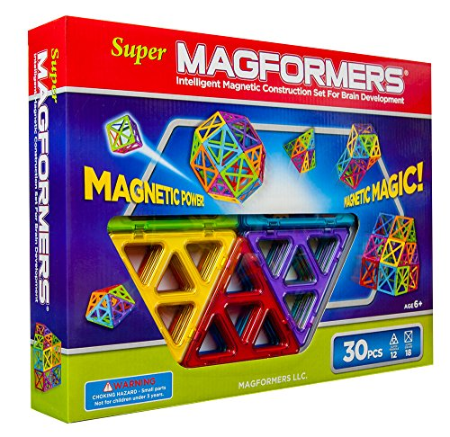 Super Magformers 30 Piece Set front-842926