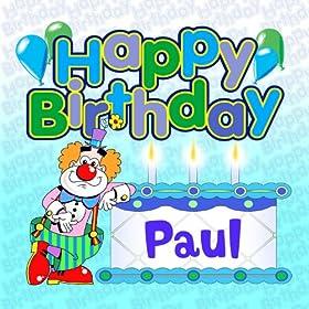 Amazon.com: Happy Birthday Paul: The Birthday Bunch: MP3