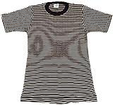 THERMAL BORDER SHORT SLEEVE TEE(サーマルボーダー半袖Tシャツ) (Mサイズ, BKS(ブラック細い))