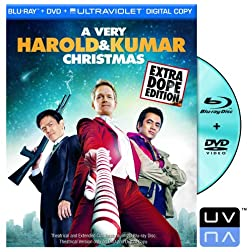 A Very Harold &amp; Kumar Christmas (Single-Disc Blu-ray/DVD Combo + UltraViolet Digital Copy)