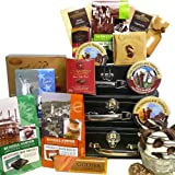 Art of Appreciation Gift Baskets   The Chocolate Traveler International Collection of Chocolate Tower