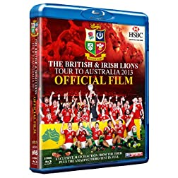 The British & Irish Lions 2013: Official Film (highlights) Blu Ray [Blu-ray]