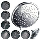 "Black Friday Preview! HotelSpa® Ultra Luxury 6 Setting 6"" Rain Showerhead. Special Savings Deal from Top Brand Manufacturer!"