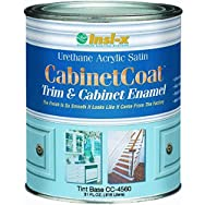 Insl-X CC4510099-44 Cabinet Coat Enamel-SAT WHITE CABINET ENAMEL