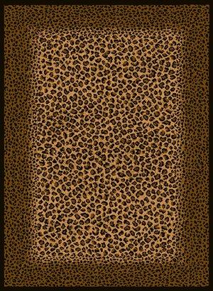 "53""x72"" Safari - Leopard Skin (030-72770) Area Rug"